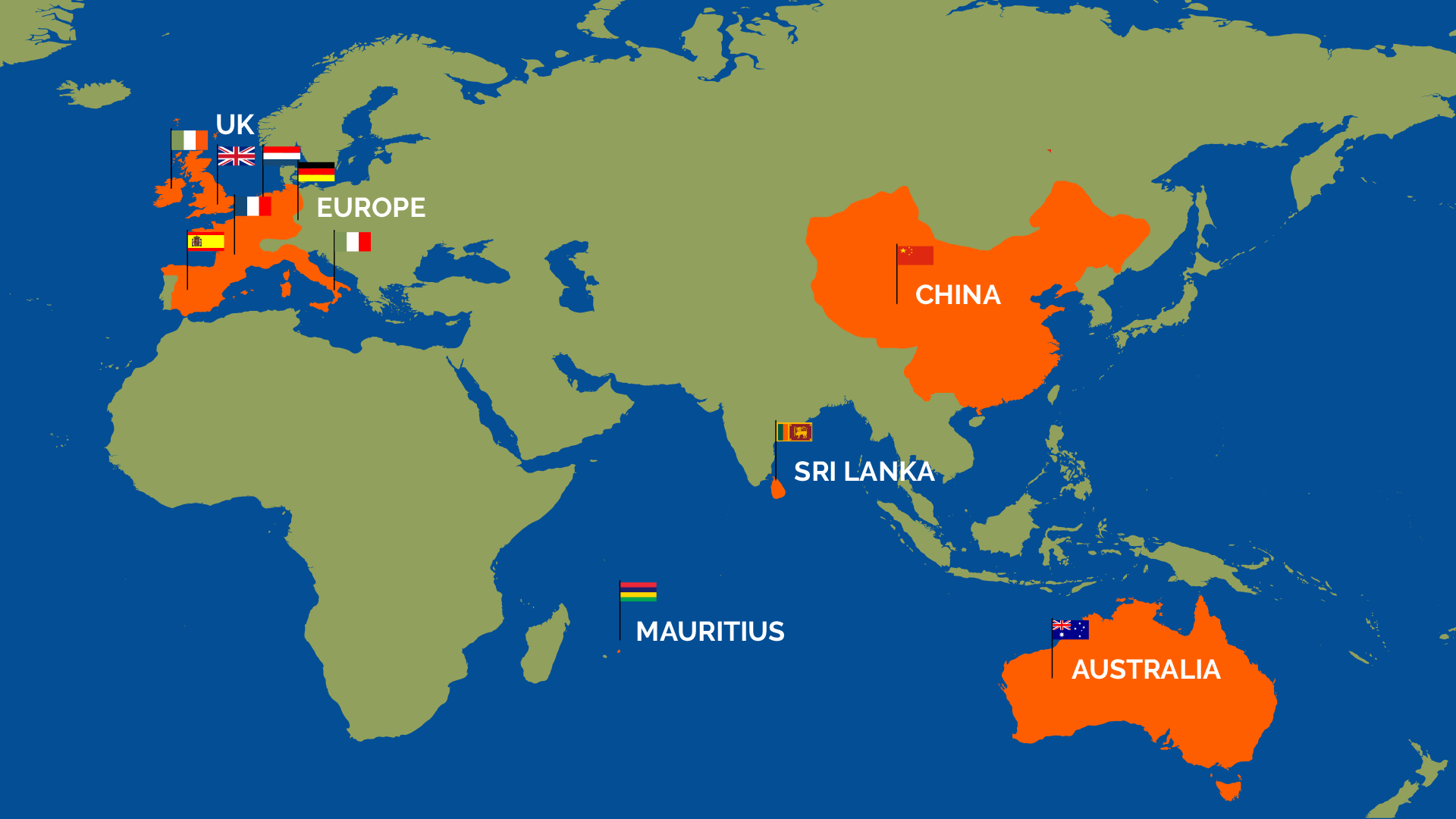 Kinetik has delivered in 11 countries and 23 organisations